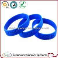2013 new proudct embossed silicone wristband children bracelet