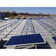 Trade Assurance flat roof solar panel system 30kw easy installation