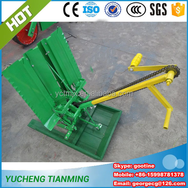 Mini farm tools manual rice planting machine for seedling