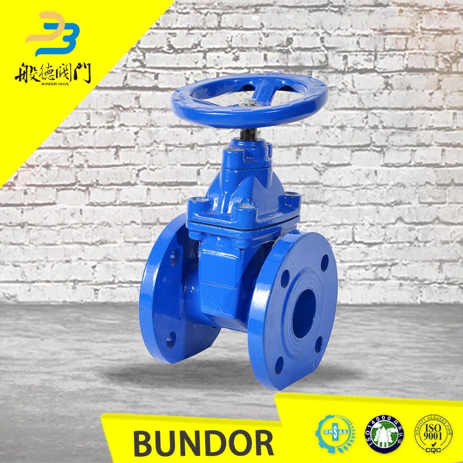 Manual operated non rising stem 8 inch resilient seated gate valve