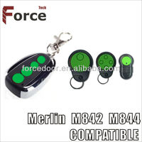 New Merlin M832 and M842 remote control opener ,Merlin transmitter, Merlin green button garage door remote opener with low price