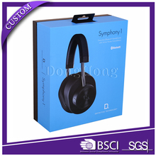 Drawer shape gift paper headphone packaging box