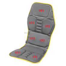 HFR-858-1E Electric Seat Vibrating Massage Heat Pad / Mattress Use in Car with Heating 12VDC adaptor and Car Plug