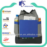 Wellpromotion cute design 600D polyester sling pack