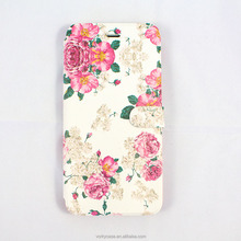 Folio silk-screen leather case with inside plastic holder for iPhone7/ 7plus