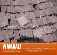 Cobble Stone on Mesh for Paving