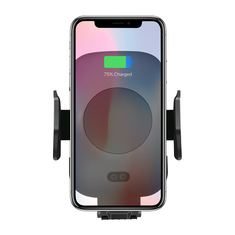 C9 Infrared Induction Wireless Car Charger , <strong>C10</strong> Infrared Sensing Chuck Stand Mobile Phone Wireless Fast Charger Auto Clamp