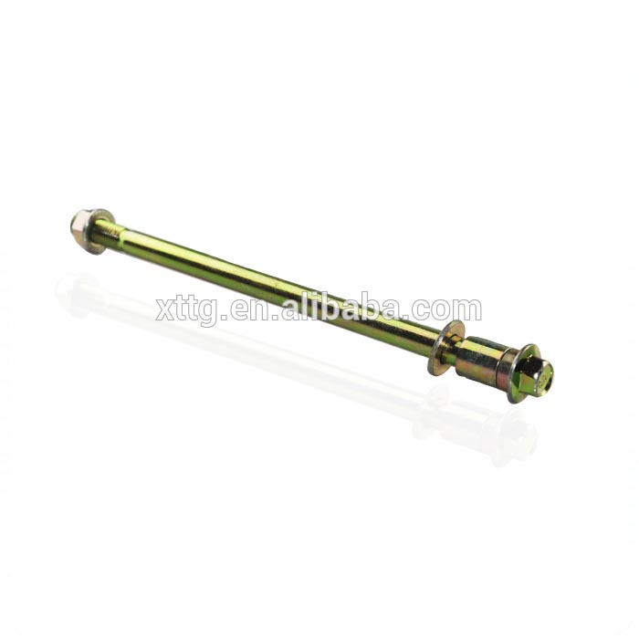 Motorcycle spare parts rear wheel axle