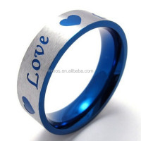 Smart Ring Jewelry Love Letter Ring