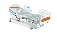 hospital equipment 3 crank manual hospital beds