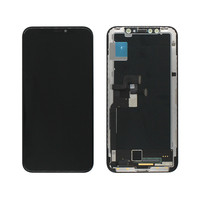 Best price mobile phone soft oled Lcd screen touch display assembly for apple iphone x screen