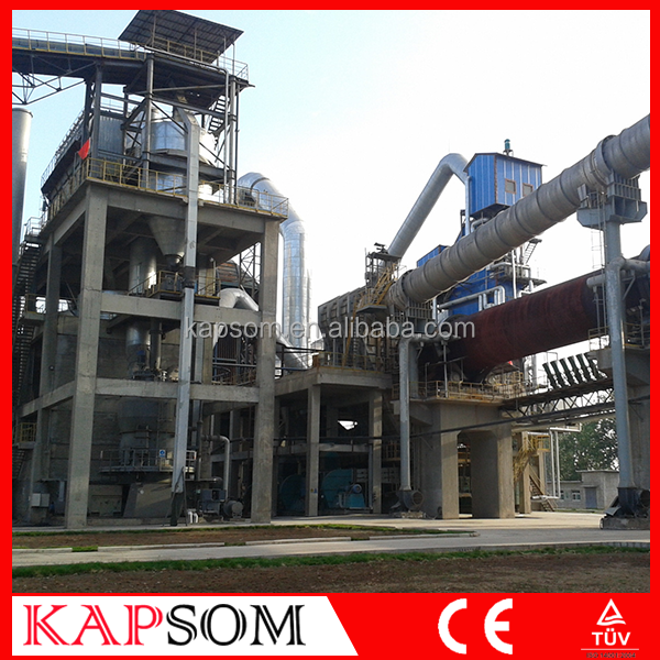 High Quality 600TPD VSK Cement Plant