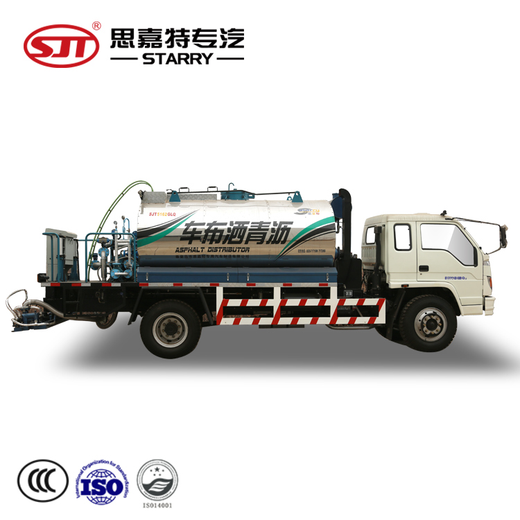 High quality Distributor Fiber Asphalt and Aggregates Fiber Chip Sealer