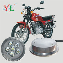 High brightness 18W round led headlight motorcycle with 6 Lamp