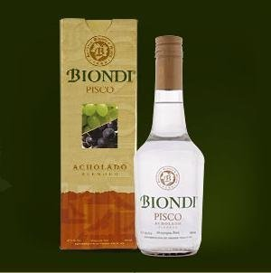 Biondi Pisco Quebranta brandy
