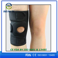 Customized Sports protector elastic Neoprene brace support knee pad