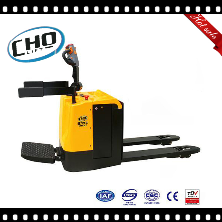 2500kg 3000kg Load Capacity Electric Battery Pallet Truck