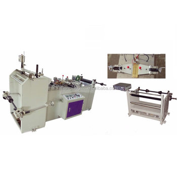 Middle sealing, center sealing machine