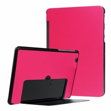 Bookcase style tri fold shell Flip Cover for LG GPAD 3 G PAD III 10.1 tablet Leather Case