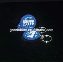 2013 Beautiful and Vivid car shape 2d soft PVC keychains for gifts(guangzhou factory)
