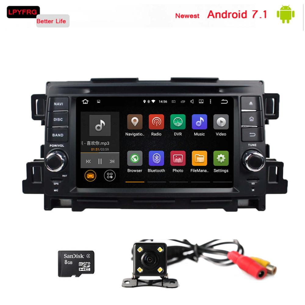 C600 android 7.1 mazda cx-5 cx5 headrest dvd player with gps av audio radio accessories tpms dab+ bluetooth LPYFRG stereo