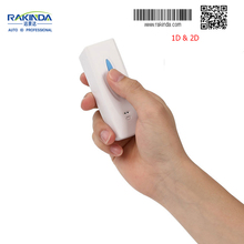 Rakinda RD5 Mini Portable Handheld 2D Barcode Scanner Bluetooth and 2.4G Wireless
