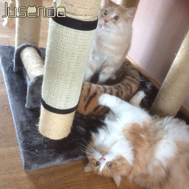 Pet Toys Type and Cats Application Cat Tree Scratch Post In China