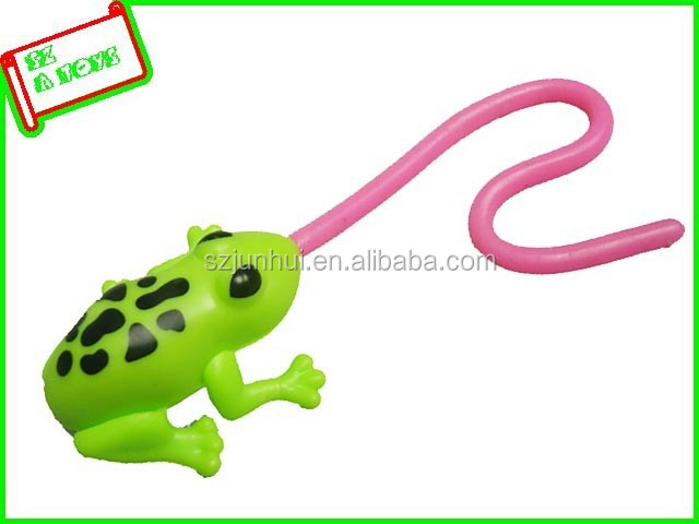 sticky tongue plastic frogs innovative toys
