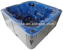 acrylic free standing 6 persons outdoor hydro massage spa tub