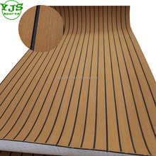 "94.5""x35.4"" Light Brown marine flooring composite boat decking eva material decking synthetic teak"