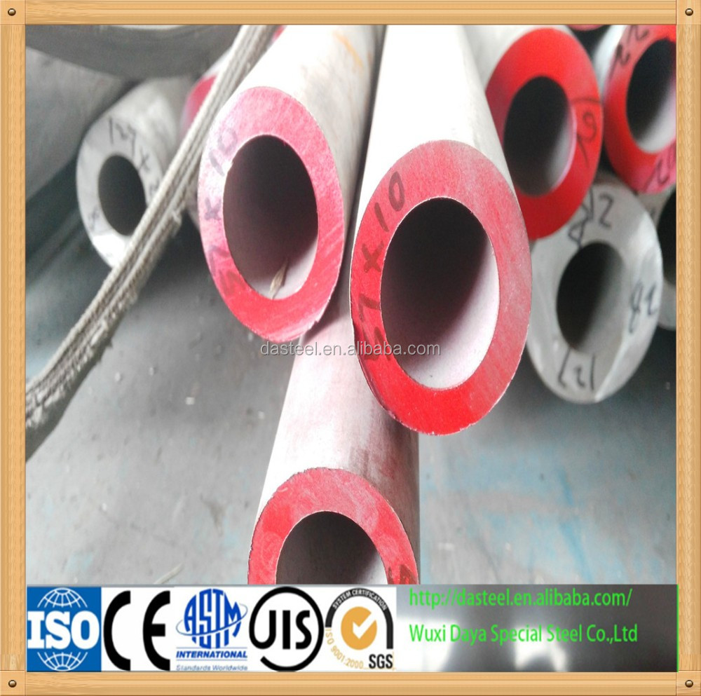 quality stainless 321 steel seamless pipe tube for building construction