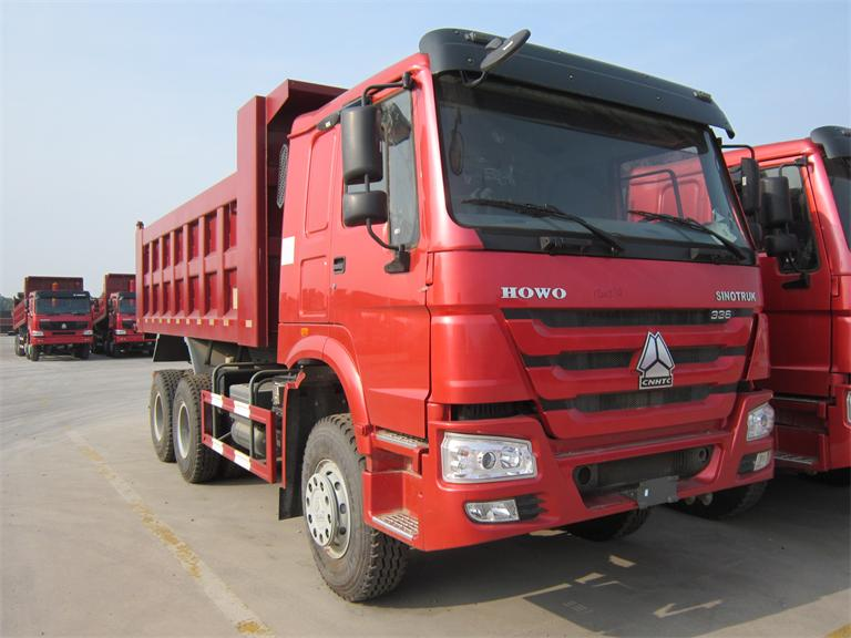 sinotruk Howo heavy duty 371hp 6x4 15 m3 diesel dump truck sale for cheap price