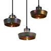 Lustre Shade Flat Pendant Lamp Suspension