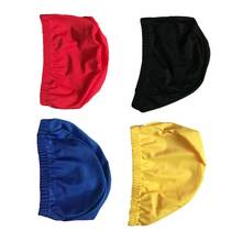 Lycra Durable Fabric Custom Logo Printing Lycra Swimming Cap With Multi Color