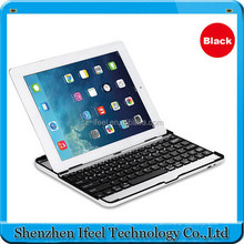 Ultra Slim Bluetooth Wireless Aluminum Keyboard Stand Case Cover for iPad Air/iPad 5