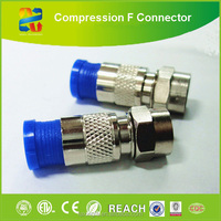 HOT SELL F/BNC/RCA F Connector made in China for coaxial cable
