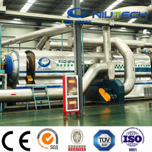 Waste tire to oil equipment with pyrolysis technology