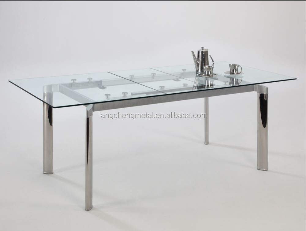 LC-021 Integrated automatic lifting dinnin table slide runner(extension table mechanism)