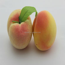 High simulation fruit weighting fake peach house kitchen party decoration