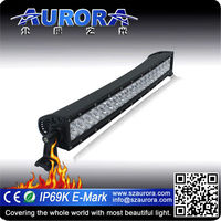 E-Mark, SAE, Rohs, CE 20 inch dual row curved accessories off road light bar