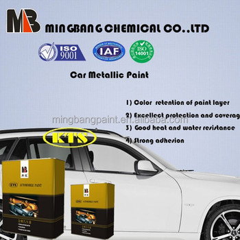 1K Car Paint Pearlescent White For Car Refinishing