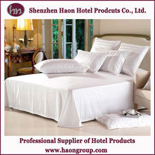 luxury hotel stripes satin king size bed linens wholesale