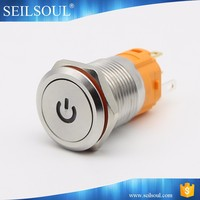 IP67 16mm Small Led Light Momentary