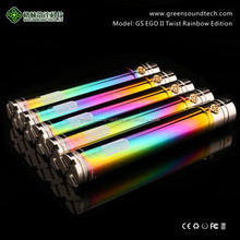 Vaporizer Pen With 510/ego Thread Best Selling E Cigarette Rainbow battery VV function china new innovative product