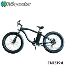 48V 13AH Samsung Lithium Battery Full Suspension Double Disc Brakes Electric Beach Cruiser Bicycle Bike