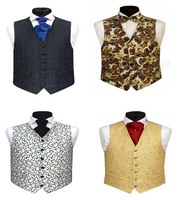Microfiber formal mens designer good quality cheap suit vest waistcoat for men