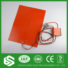 production silicone rubber heating pad ptc ceramic heater 12v