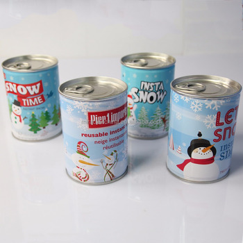Magic Snow in Can package