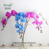artificial rubber butterfly flower for sale and decoration