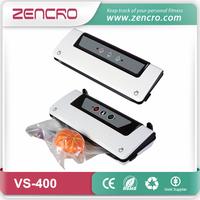 Zencro Electric Plastic Bag Sealer Food Packaging Portable Vacuum Sealer